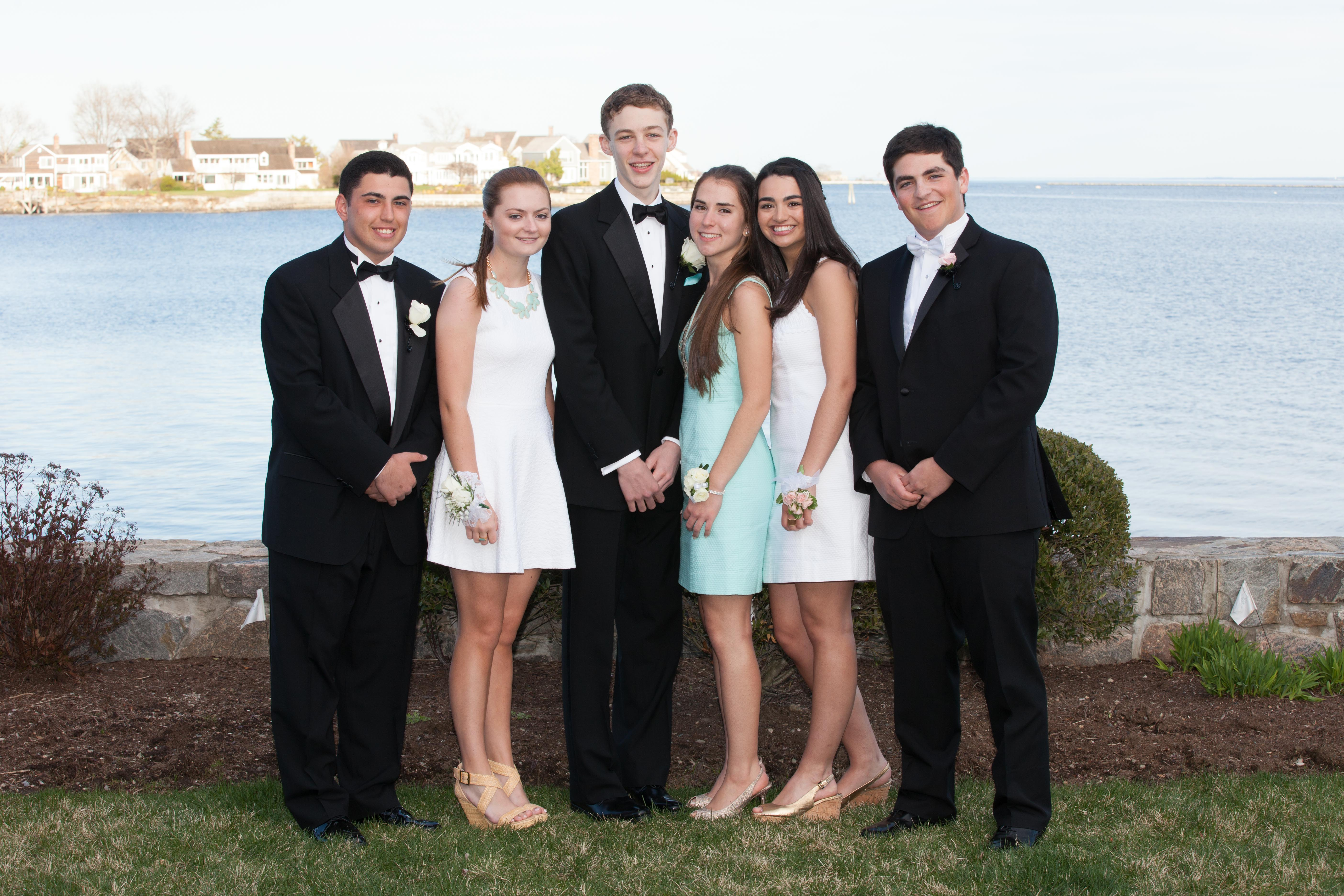 Group Prom Photo of Greenwich High School